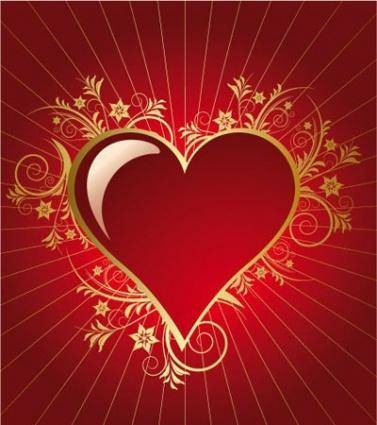 Heart for valentine day