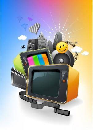 free vector Entertainment media