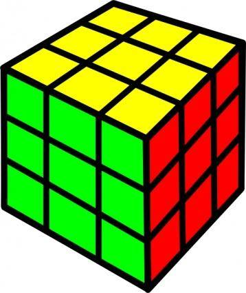 free vector Rubik Cube clip art