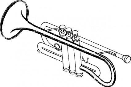 free vector Trumpet clip art