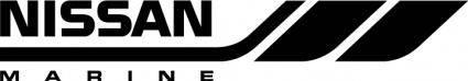 free vector Nissan Marine logo