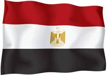 Egypt Flag Vector