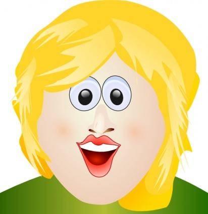 Portrait clip art