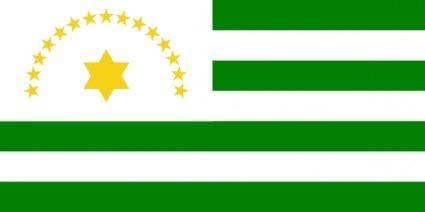 Flag Of Caqueta Department clip art