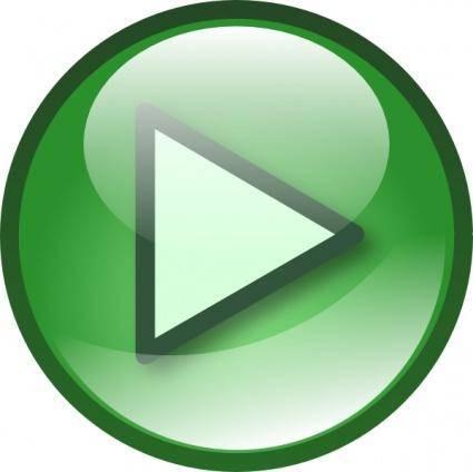 free vector Play Audio Button Set clip art