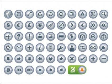 free vector N-Chrome Icons V2.0