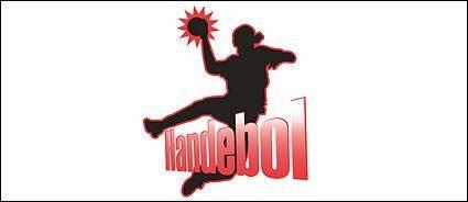 free vector Handball figures in Pictures