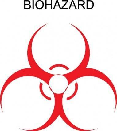 free vector Biohazard logo