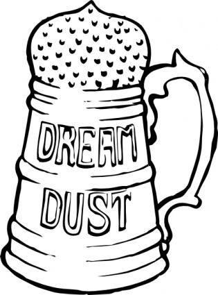 free vector Dream Dust clip art