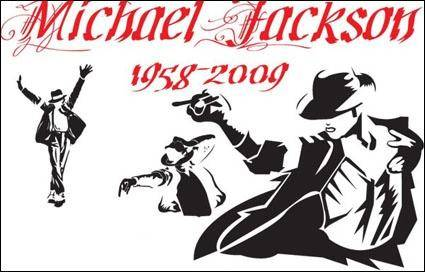 free vector Michael Jackson classic action vector material