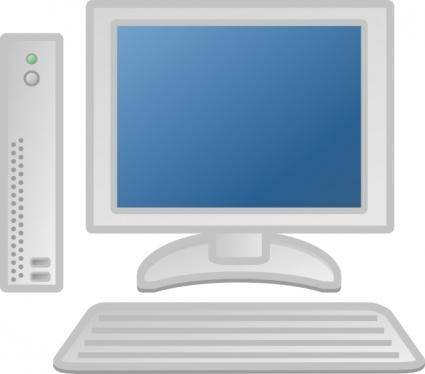 Thin Client Lcd Keyboard clip art