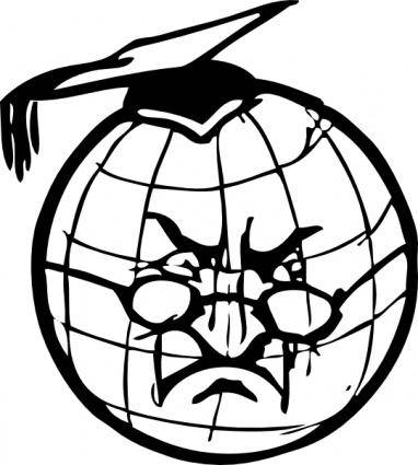 Professor Earth clip art