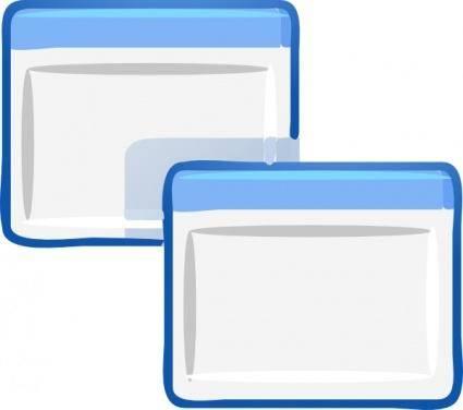 free vector Window Icon Gui clip art