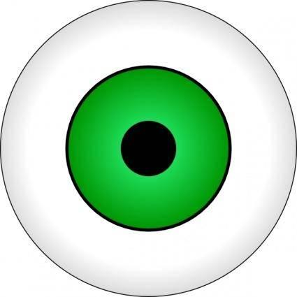 Tonlima Olhos Verdes Green Eye clip art