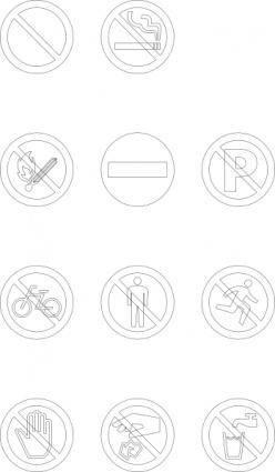 Maxim Signs clip art