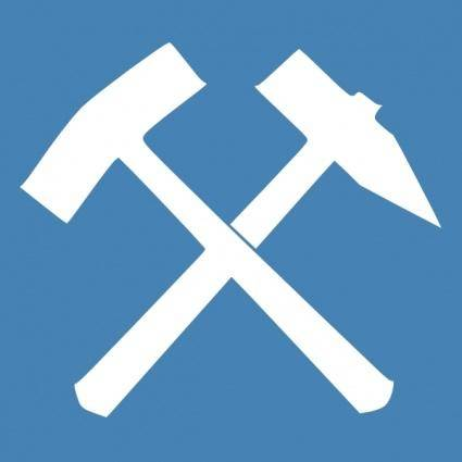 White Hammer clip art