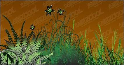 free vector Flowers vector material