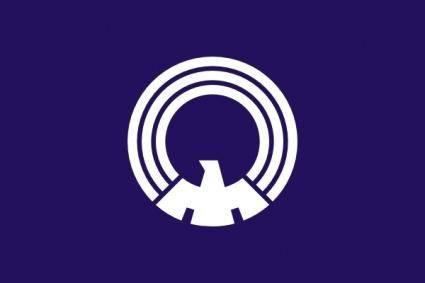 Flag Of Mitaka Tokyo clip art