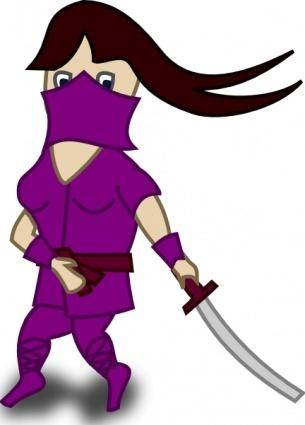 Comic Characters Ninja clip art