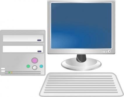 free vector Workstation clip art