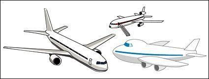 free vector Vector aircraft material
