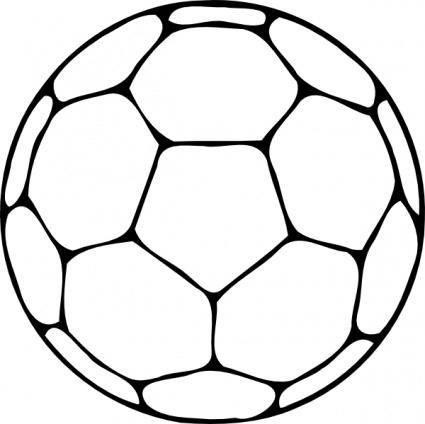 free vector Handball Ball clip art
