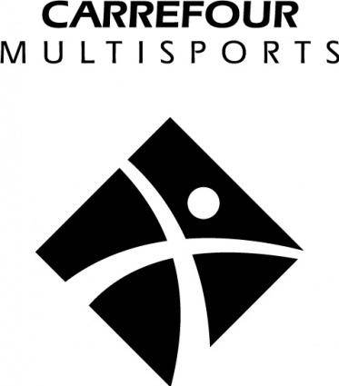 free vector Carrefour Multisports logo2