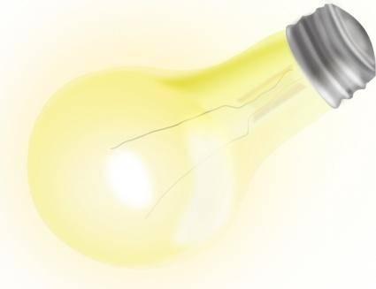 free vector Nice Light Bulb clip art