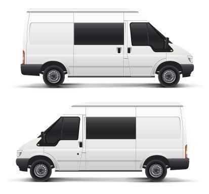 free vector White Transporter