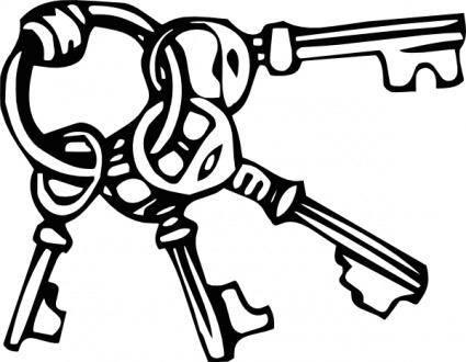 free vector Keyring Key Ring clip art
