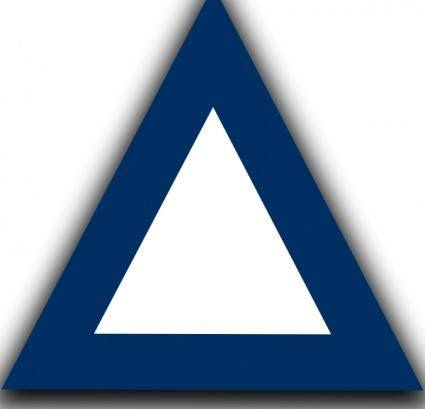 Jazzynico Air Traffic Control Waypoint Triangle clip art