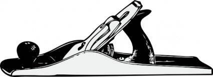 Hand Plane clip art