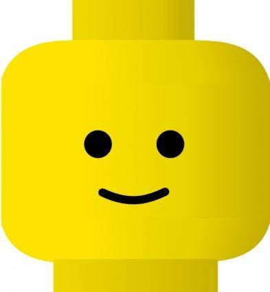 free vector Pitr Lego Smiley Happy clip art