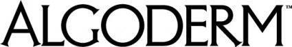 free vector Algoderm logo