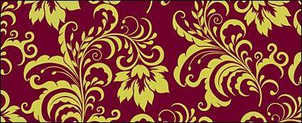 free vector Fashion gorgeous patterns background
