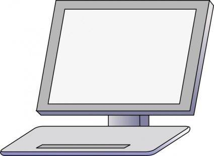 free vector Pc Front clip art