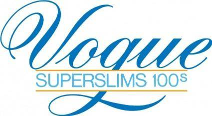 free vector Vogue superslim logo