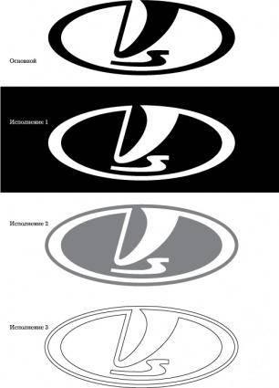 free vector VAZ logo