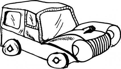 Cartoon Car clip art