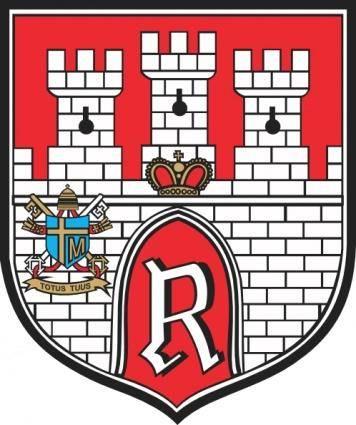 Castle Bricks Stone Coat Of Arms clip art