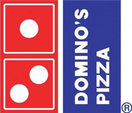 free vector Dominos Pizza logo