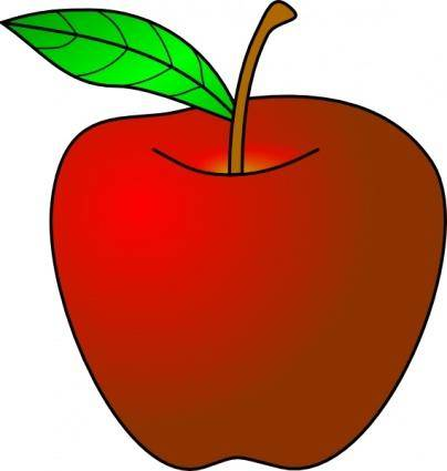 An Apple clip art