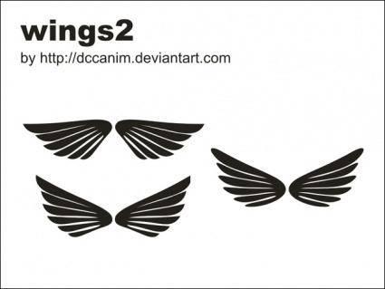 free vector Dccanim Wings 2