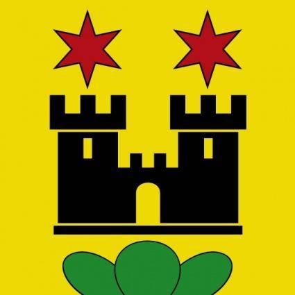 Castle Stars Wipp Meilen Coat Of Arms clip art