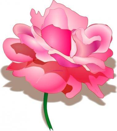 free vector Rose clip art