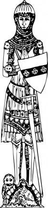 Sir John De Creke clip art