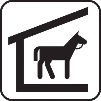 Horse Stable clip art