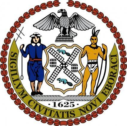 Seal Of New York City clip art