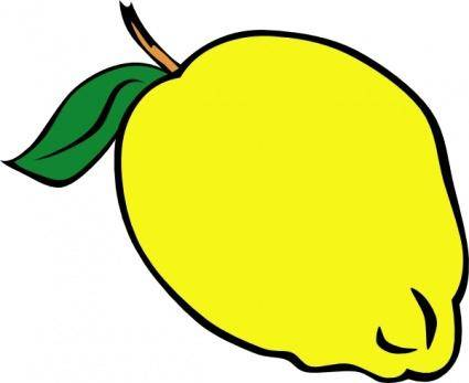 free vector Whole Lemon clip art