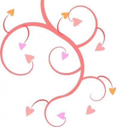 Michaeldarkblue Growing Hearts clip art